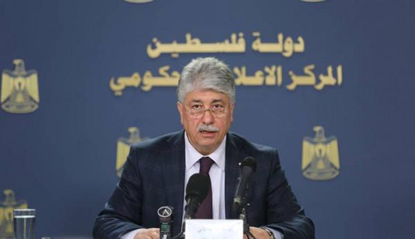 مجدلاني: إجراءاتنا لن تمس حقوق الموظفين والقضايا الحياتية ومعبر رفح شأن مصري