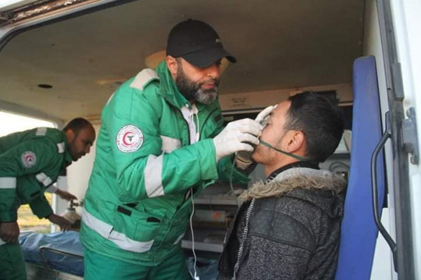 الخدمات الطبية تُقدم 19713 خدمة إسعافية في مسيرات العودة خلال عام 2018
