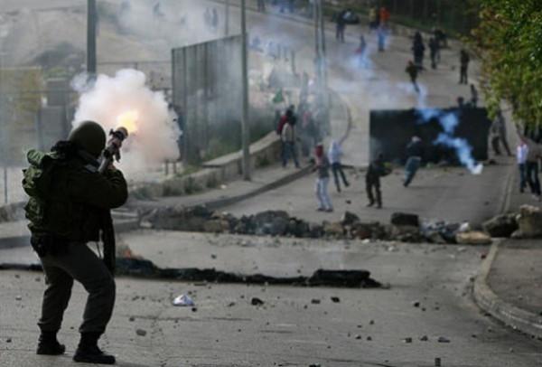 إصابات في مواجهات مع الاحتلال في مدينة رام الله