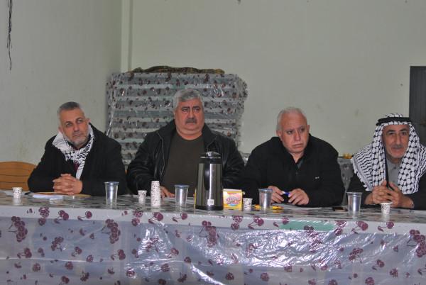"""حركة """"فتح"""" تعقد مؤتمر منطقة حارس التنظيمية في إقليم سلفيت"""
