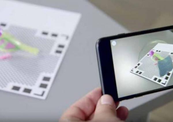 تطبيق جديد للهواتف المحمولة يتيح استخدام تقنية المسح الثلاثي الأبعاد