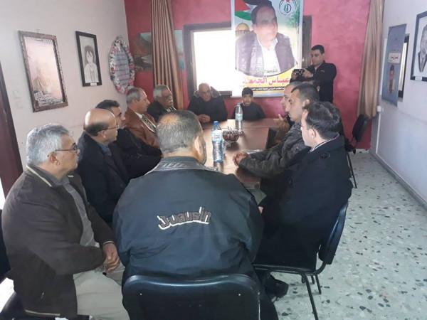الديمقراطية تعزي التحرير الفلسطينية برحيل عباس الجمعة