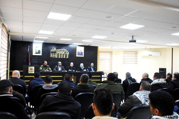 """هيئة التوجيه السياسي والوطني تعقد لقاء بعنوان """"وحدة المؤسسة الامنية """""""