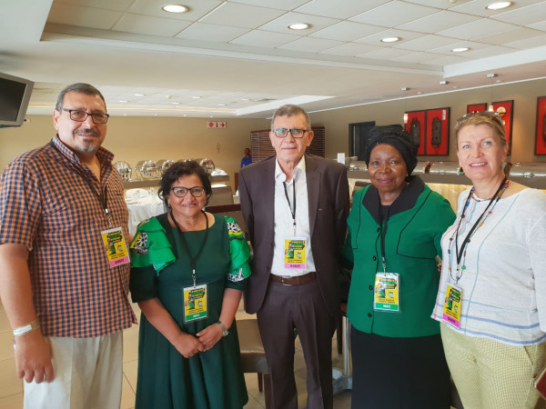 فلسطين تشارك باحتفالات جمهورية جنوب أفريقيا بالذكرى107 لتأسيس حزب المؤتمر الوطني الافريقي