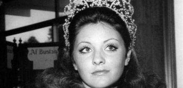 بعد 48 عاماً.. جورجينا رزق تحمل وشاح ملكة جمال الكون 1971