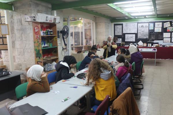 محاضرتان إرشاديتان لأطفال منتدى الياسمين البيئي بنابلس