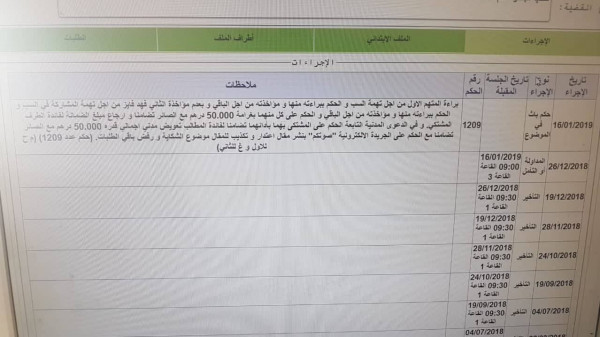 ابتدائية اكادير تدين سعوديا وصاحب موقع الكتروني وكاتب مقال