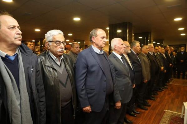 منظمة التحرير وجبهة التحرير الفلسطينية تقيمان حفل تأبين للراحل عباس الجمعة