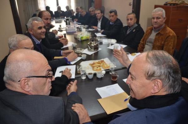 أبو يوسف يلتقي الاتحادات النقابية والشعبية والطلابية في لبنان