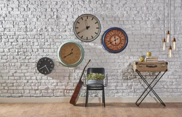تصاميم متنوعة لساعات حائط تناسب غرف منزلك