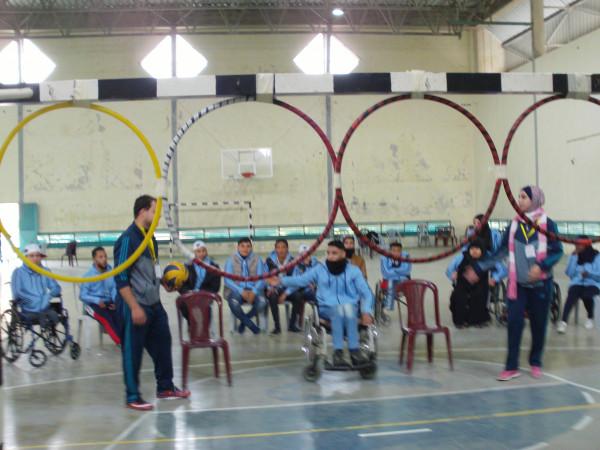 """فعاليات المخيم الشتوي الخاص بذوي الإعاقة """" غزة أقوى بإرادتها"""" تتواصل بنجاح"""