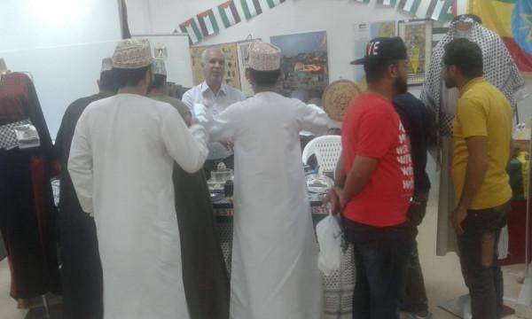 جناح لفلسطين في مهرجان مسقط الـ 21