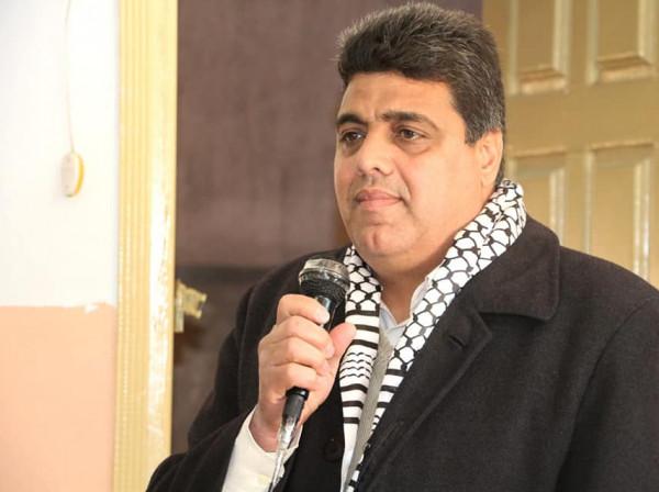 شيخ العيد يطالب المجتمع الدولي بحماية الأسرى الفلسطينيين