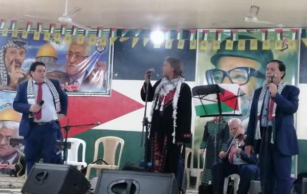 """فرقة """"حنين"""" تُحْيي حفلاً فنّيًّا في الشمال بمناسبة الذكرى الـ54 لانطلاقة الثورة"""