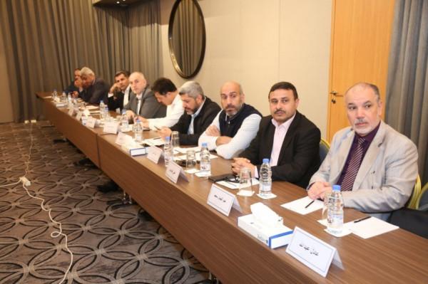 انطلاق أعمال الاجتماع العاشر للأمانة العامة للمؤتمر الشعبي لفلسطينيي الخارج في بيروت