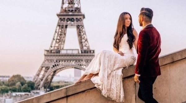 لماذا ارتدت هذه العروس فستان زفافها في 33 بلداً؟