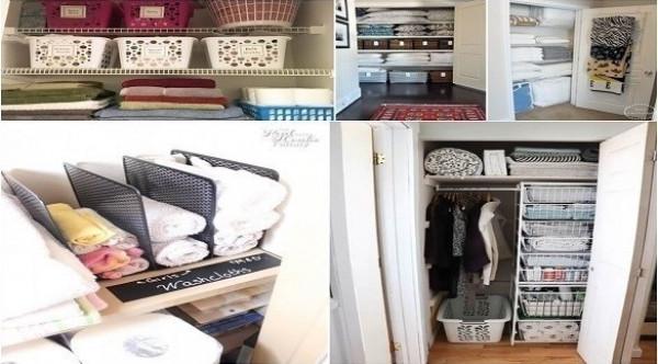 10 حيل لترتيب وتنظيم الملابس في الخزانة