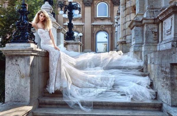 أجمل أقمشة فساتين زفاف 2019