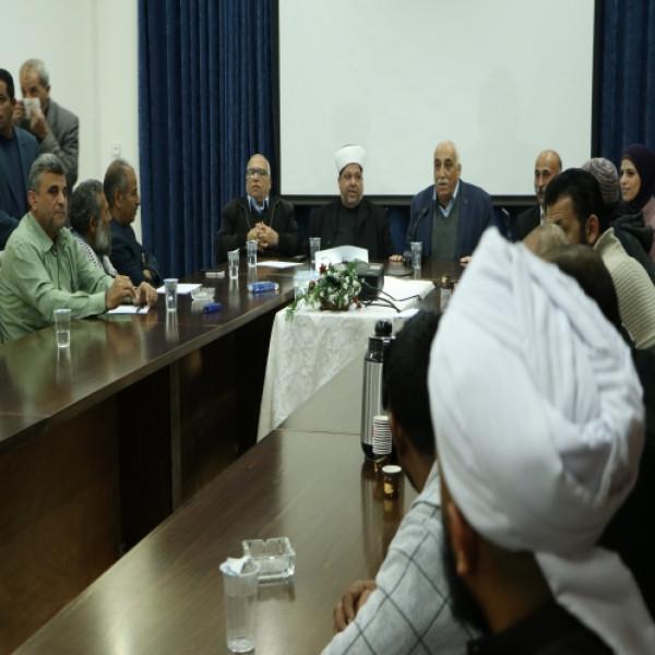 ابو العسل وادعيس يؤكدان على دور منابر المساجد في نشر المعرفة