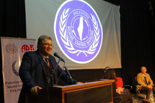 """افتتاح نموذج محاكاة الأمم المتحدة """"الثالث"""" في جامعة القدس"""