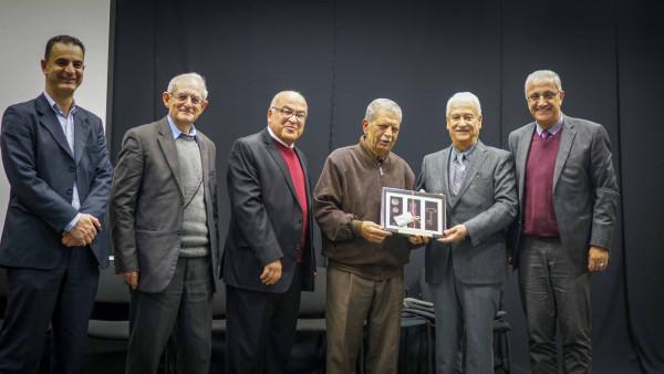 جامعة بيرزيت تكرم شيخ الجغرافيين الفلسطينيين