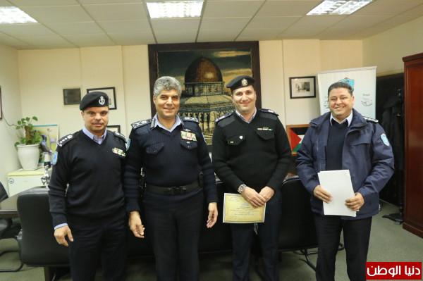 اللواء عطا الله يُكرم فروع الشرطة القضائية الحاصلين على أعلى نسبة إنجاز