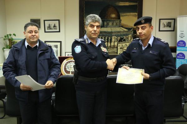 عطا الله يكرم فروع إدارة الشرطة القضائية الحاصلين على أعلى نسبة انجاز