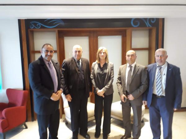 الشخصيات المستقلة تجتمع بسفيرة النرويج لخطة الاعمار والسلام