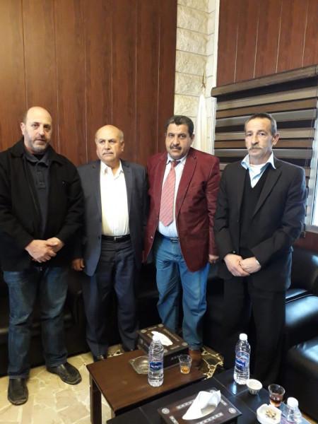 الديمقراطية تلتقي عضو تكتل لبنان القوي النائب مصطفى حسين
