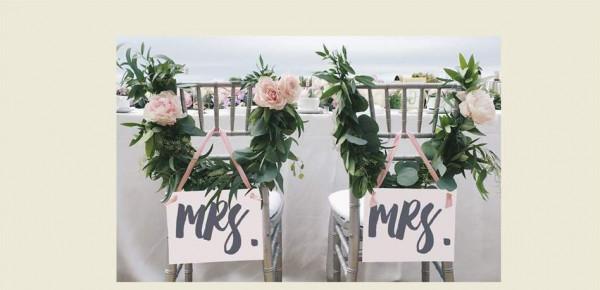 شاهد: أفكار حديثة لتزيين مقاعد العروسين