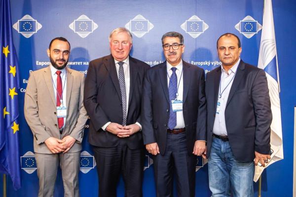 """الاتحاد الفلسطيني للهيئات المحلية يشارك بمؤتمر """"المدن والمناطق للتعاون التنموي"""" في بروكسل"""