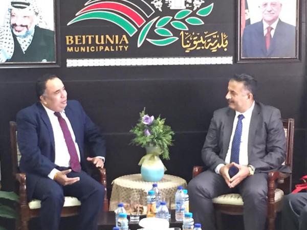دولـة يبحث مع سفير الهند ابرام اتفاقيات شراكة وتعزيز التعاون