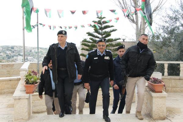 عطا الله يشيد بجهود الشرطة بتأمينها لأعياد الميلاد المجيدة ببيت لحم