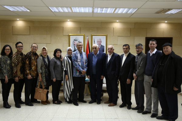 محافظ اريحا والأغوار يؤكد على عمق العلاقات الفلسطينية الاندونيسية
