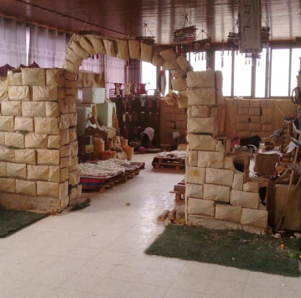 اناث قلقيلية الشرعية تحتضن التراث الفلسطيني بقسم خاص بالمدرسة