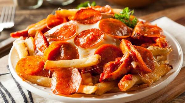 بطاطس البيتزا