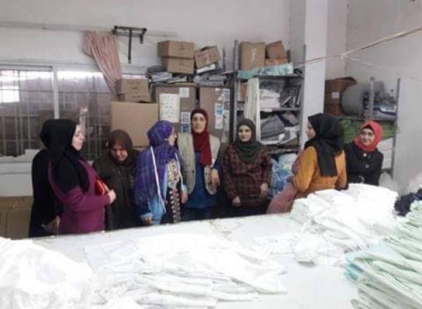 دائرة المرأة في طولكرم تنظم ورشة عمل حول التنظيم النقابي
