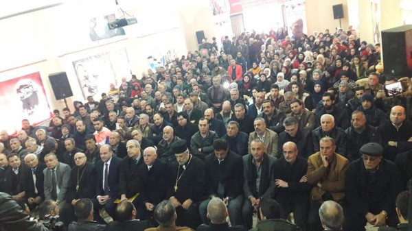 الديمقراطية تحيي ذكرى يوبيلها الذهبي بمهرجان سياسي في البقاع
