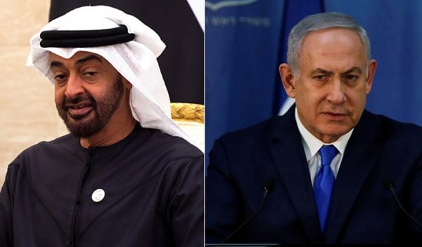 """الإعلام الإسرائيلي: نتنياهو أجرى إتصالات سرية مع """"محمد بن زايد"""""""