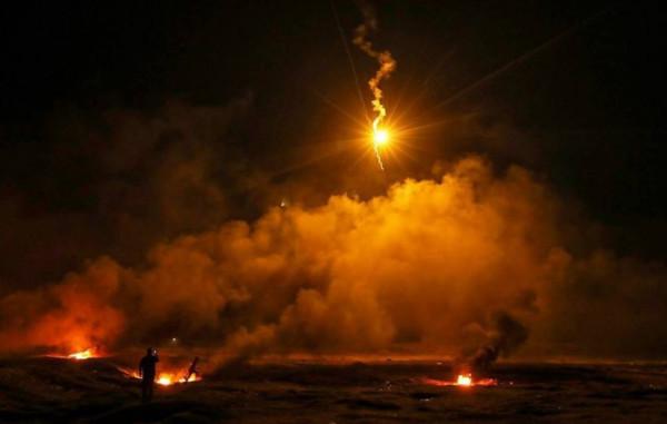 إصابة مواطن برصاص قوات الاحتلال شرقي مدينة غزة