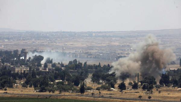 غارات إسرائيلية على سوريا