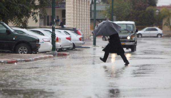 الطقس: منخفض جوي مصحوب بكتلة هوائية باردة يضرب فلسطين الخميس