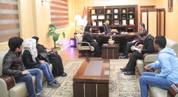 وزير العمل يبحث مع اتحاد الصناعات العراقي اعداد ورقة للنهوض بالقطاع الخاص