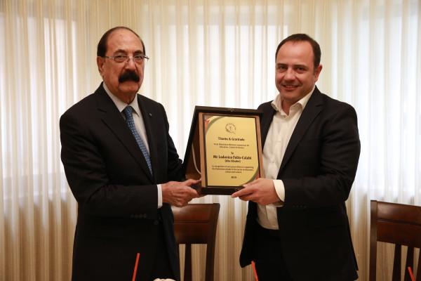 """اللجنة الوطنية تستقبل مدير مكتب """"اليونسكو"""" في فلسطين بمناسبة نهاية مهامه"""