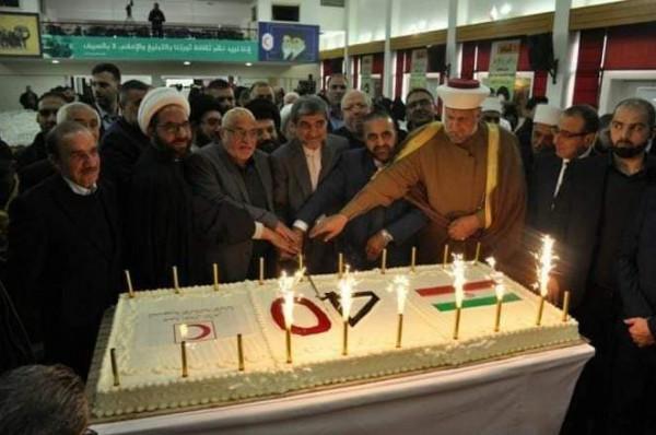 مجلس علماء فلسطين بلبنان يشارك بمهرجان النبطية بذكرى انتصار الثورة الاسلامية