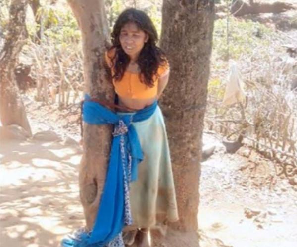 صور مُروعة.. تذبح ابنة شقيقة زوجها أمام أختها