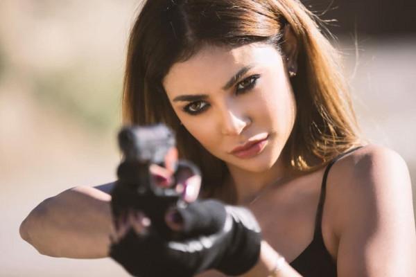 لارا كروفت العرب غيثة الحمامصي تشارك ببطولة فيلم أخناتون في مراكش