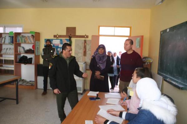 مفوض رام الله والبيرة يشرف على انتخابات برلمان طلابي