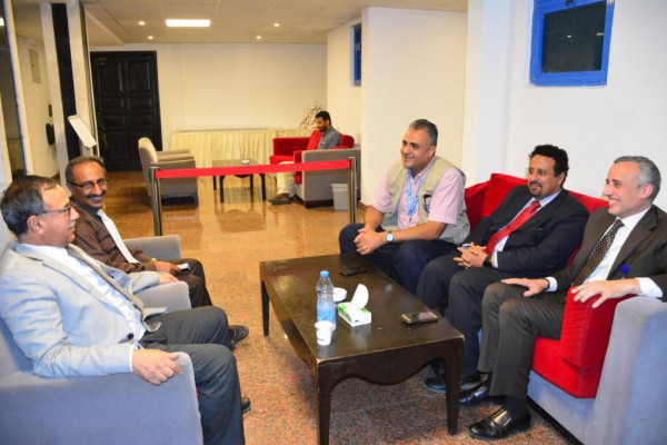 رئيس جامعة عدن يبحث التعاون مع مكتب الأمم المتحدة لخدمة مشاريع UNOPS