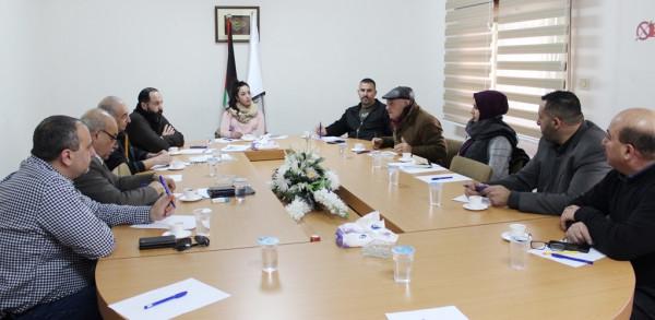 لقاء تشاوري بين غرفة تجارة وصناعة محافظة بيت لحم واللجنة الوطنية التحضيرية